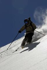 ACG SNOWride 2007 - Samnaun, jezdec a kameraman Honza Vogl