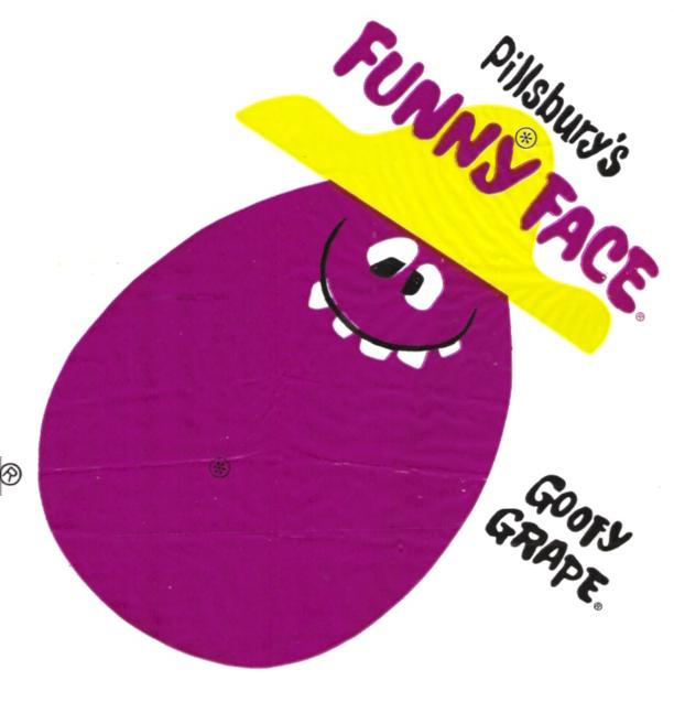 Old Pillsbury Funny Face Goofy Grape Kite Premium A Photo On Flickriver