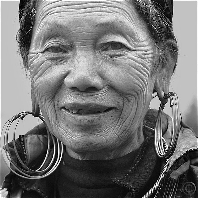 Thi --  My favorit grandma in Sapa