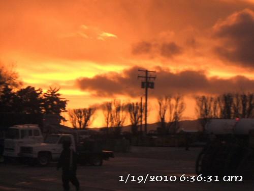 california usa kern sunrises tehachapi