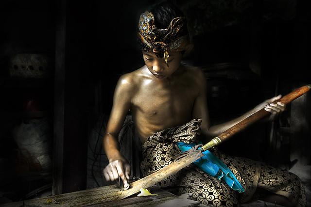 Pande (Master Blacksmith) Series - Nyoman Okasuwarna