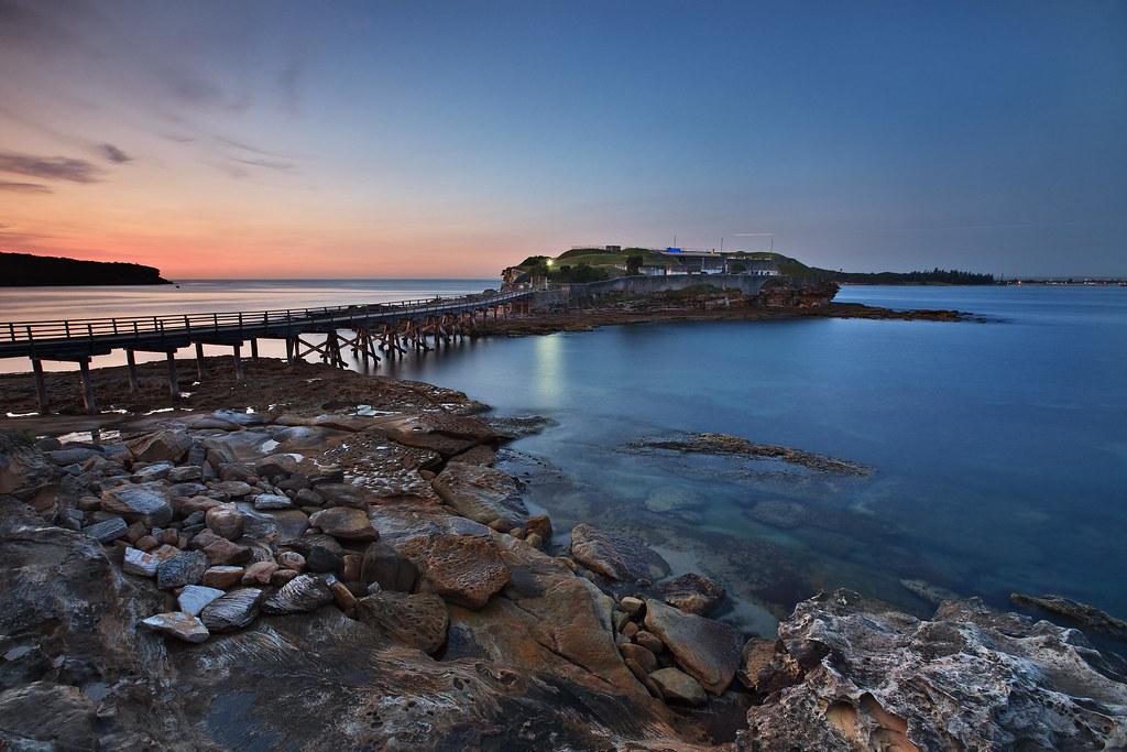 Image: Bare Island at Dawn