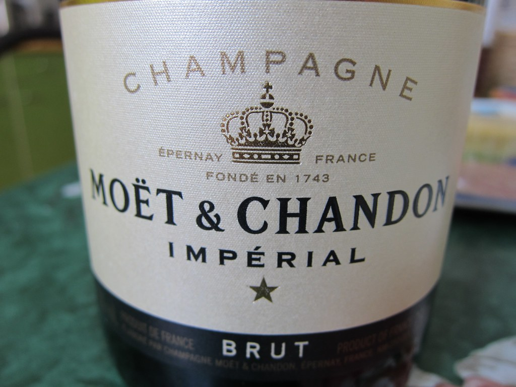 Champagne Moet Chandon Imperial Brut Great Stuff Acid
