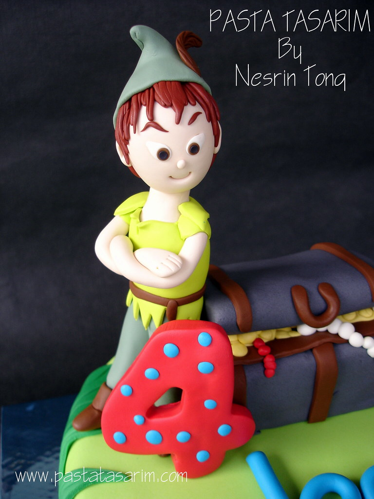 Marvelous Peter Pan Birthday Cake Denizs Cake By Nesrin Tong Flickr Personalised Birthday Cards Paralily Jamesorg