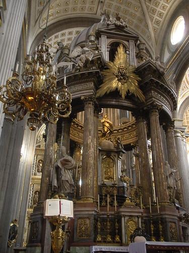 Manuel Tolsá's 1797 high altar
