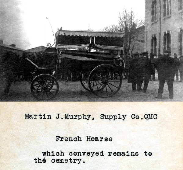 WWI Funeral Picture - 1918