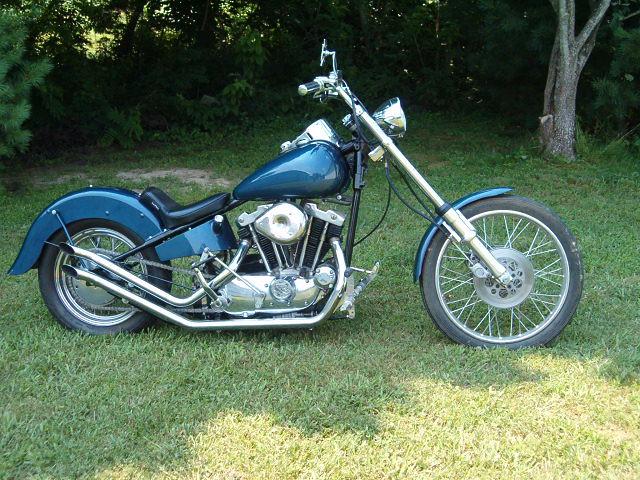 Harley Ironhead Sportster Chopper by Blevins Jones USA | Flickr