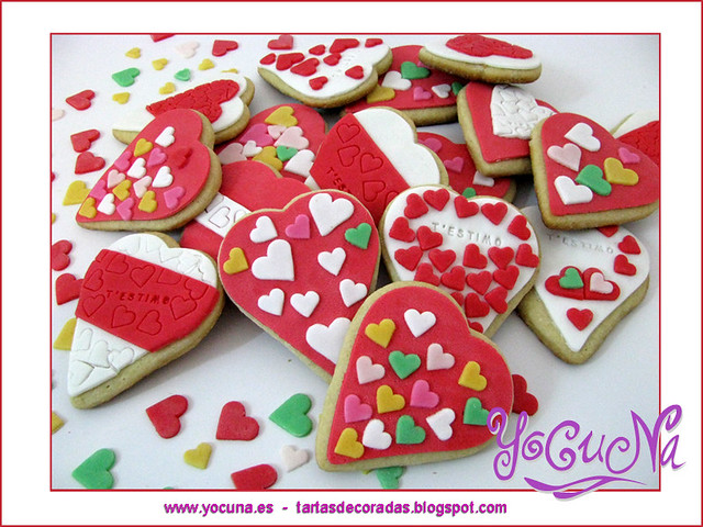 Galletas Decoradas San Valentin Tartas Decoradas Para Toda