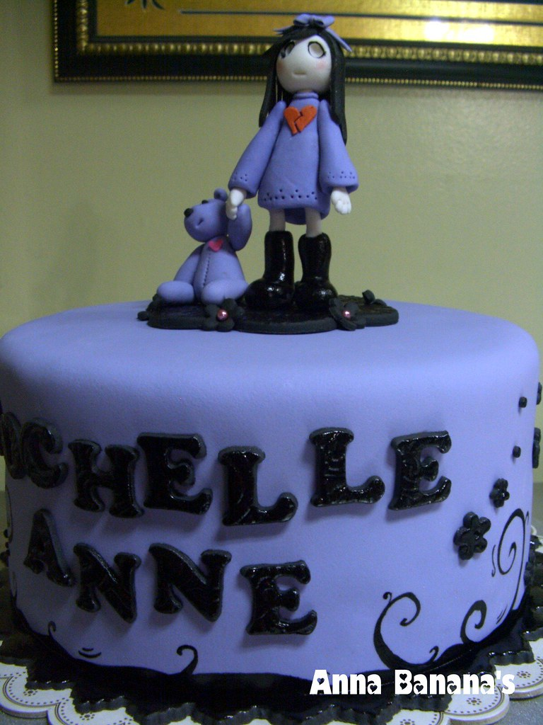 Excellent Emo Cake Anna Quisumbing Flickr Personalised Birthday Cards Akebfashionlily Jamesorg