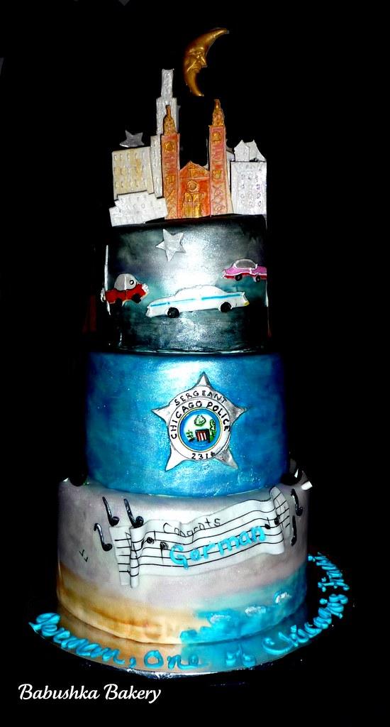 Chicago Police Sergeant Birthday Cake It S Always A Specia Flickr
