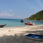 Koh Phangan Bottle Beach - Holiday 2nd day コパンガン ボトルビーチ18