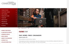 Home Free Organization Featured in CofC Magazine | by jbfarrow