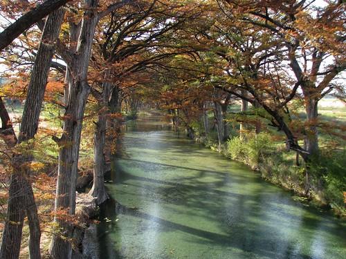 autumn fall river texas crossing medina cypress hillcountry highway16 medinacounty medinariver mlhradio threemilecrossing