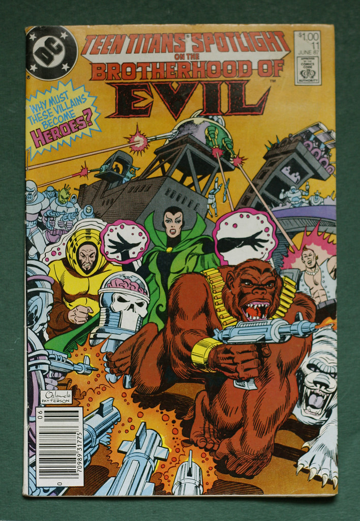 ... Teen Titans Spotlight (Brotherhood of Evil) #11 1of1 - cover | by  AComicCharacter
