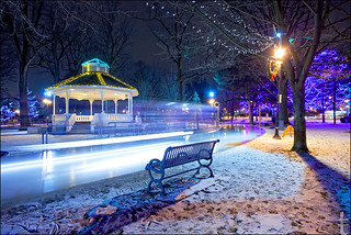 icy night in Gage Park | by tanjatiziana