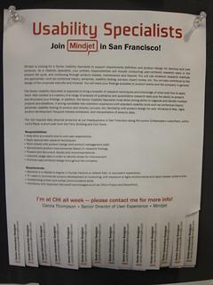 Mindjet - San Francisco, CA - Usability Specialist