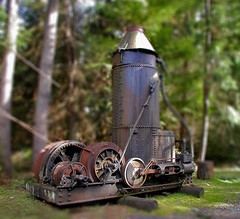 Old Contraption in Miniature