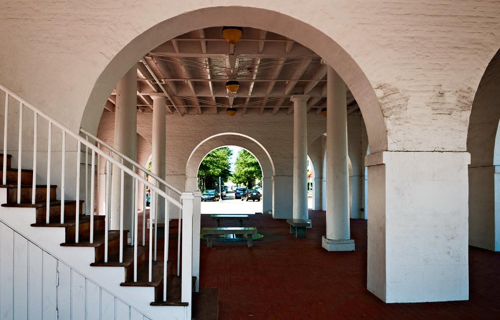 interior, Market House (1832), Fayetteville, North Carolin