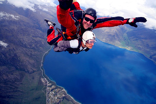 Skydiving... :S   by Or Hiltch