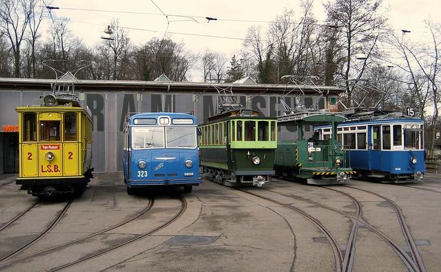 Tram Museum Zürich Osterhasenfahrt 2010