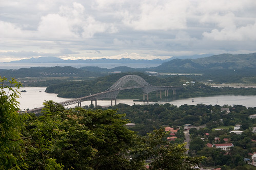 Bridge of the Americas, view from Ancon Hill | by brian.gratwicke