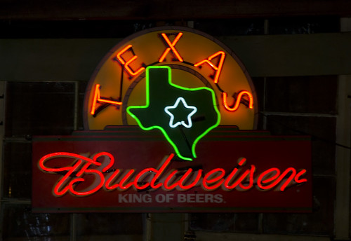 travel neon bud dancehall budweiser texashillcountry gruenehall txtexas d80 nikond80 texasbud gruenegruene neontexas texasneon texasdancehalls texasgruene gruenehallneon