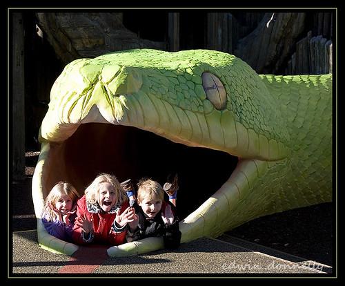park kids canon fun zoo snake smiles eaten basilisk canoneos5d canonef70200mmf4lisusm