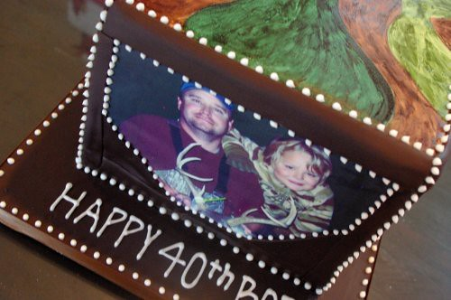 40th Birthday Hunting Cake | by wickedcakechick