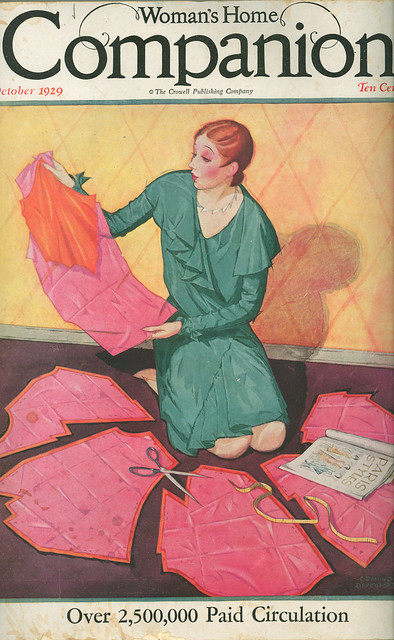 Woman's Home Companion cover, October 1929