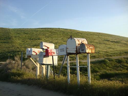 mailboxes | by juliejordanscott