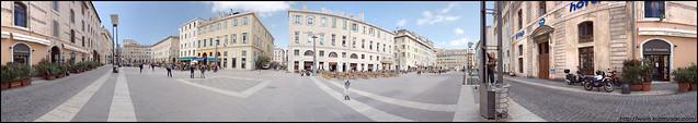 Panorama Marseille  Cours Honoré-d'Estienne-d'Orves par Karim SAARI