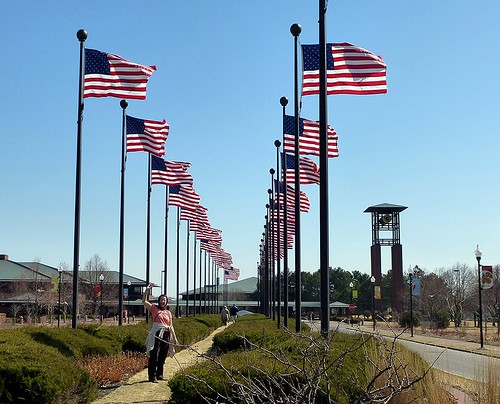 Flags at ConAgra headquarters grounds, Omaha | by ali eminov