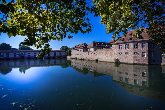Reflection in Petite France - Strasbourg - France