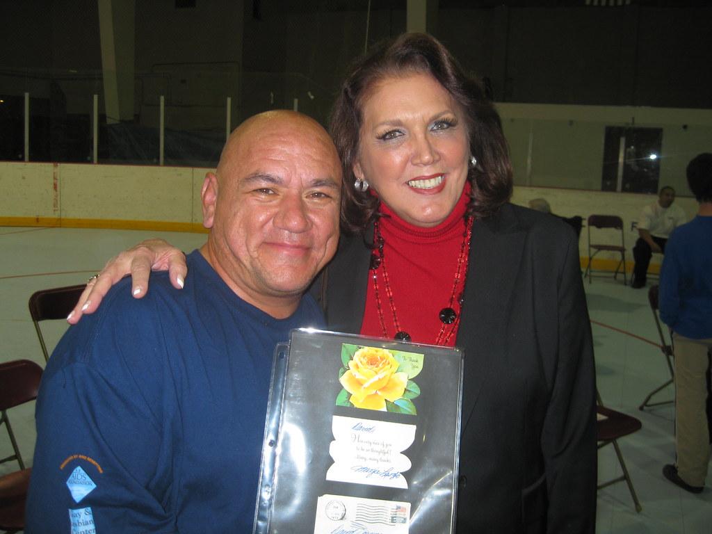 Dave Marez Longtime Roller Derby Veteran Margie Laszlo Flickr