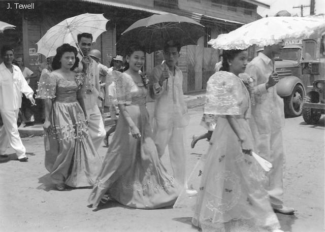 Manila, Philippines, last half of the 1940s