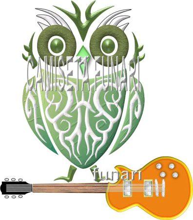 Desenho Coruja Tatoo Guitarra Rock Tatuagem Desenho Coruja Flickr