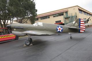 Papier-mache airplane