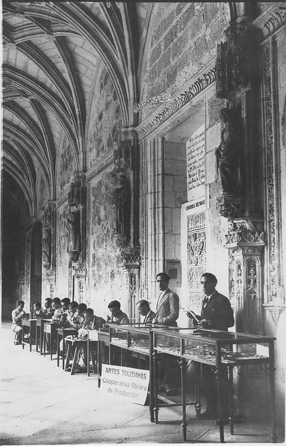 Monasterio de San Juan de los Reyes a inicios del siglo XX. Fotografía Rodríguez
