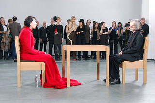 Marina Abramović, The Artist Is Present, 2010 | by 16 Miles of String