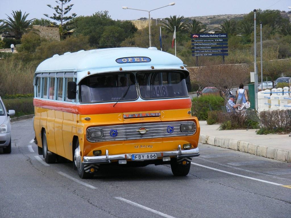 FBY666 malta bus, Route 48