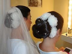 Nossa linda cliente Fernanda - em seu teste de penteado - AV060 | by Modè Flores de tecido e couro