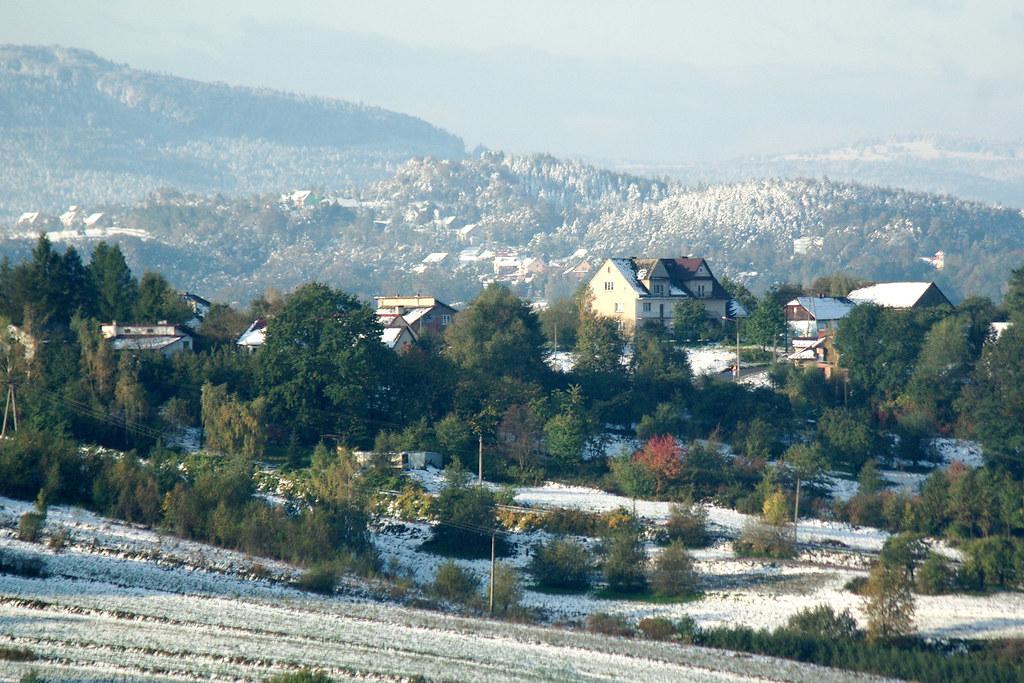 Październikowa zima / October winter