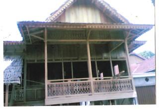 model rumah panggung 2 | rumah kayu siap jual dari desa