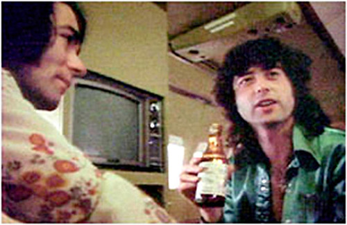 A Sentimental Moment #2: Bernard Patrick Fallon & James Patrick Page on 'Starship' over America 1973 | by bp fallon