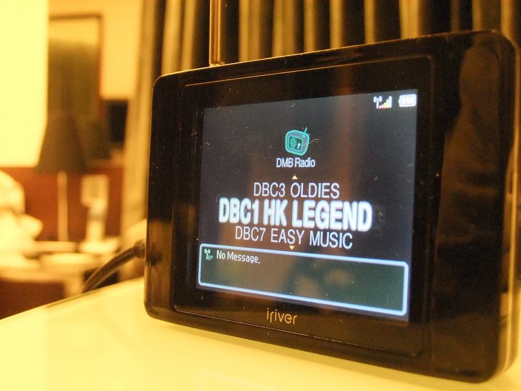 DAB radio in Hong Kong   The oldies station is currently pla