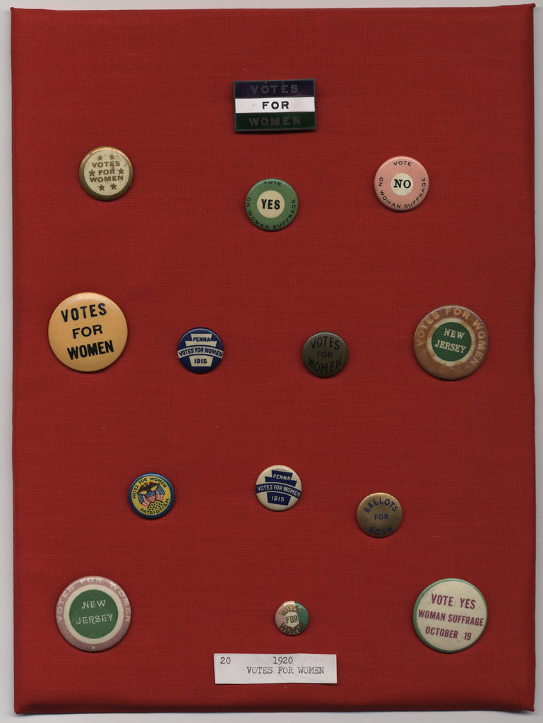 Votes For Women Buttons Ca 1915 1920 Collection Cornell Flickr