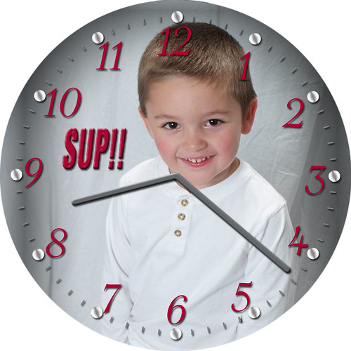 Sup!! Little Player Clock | by customclockface