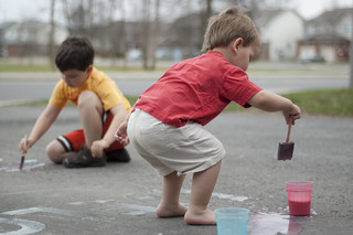 Fun with sidewalk chalk paint (2 of 6) | by Dani_Girl
