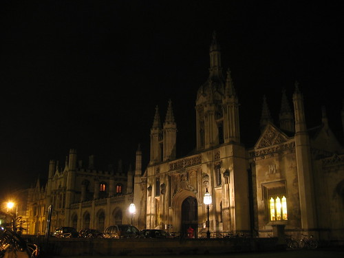 King's College Entry at Night - round two! | by MichaelTurk