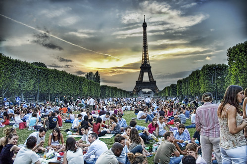 Sunset Picnic in Paris | by Trey Ratcliff